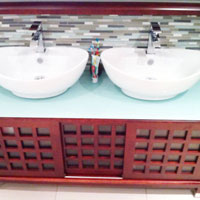 Bathrooms and faucet Installation